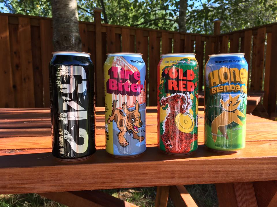 Bad Dog brews available